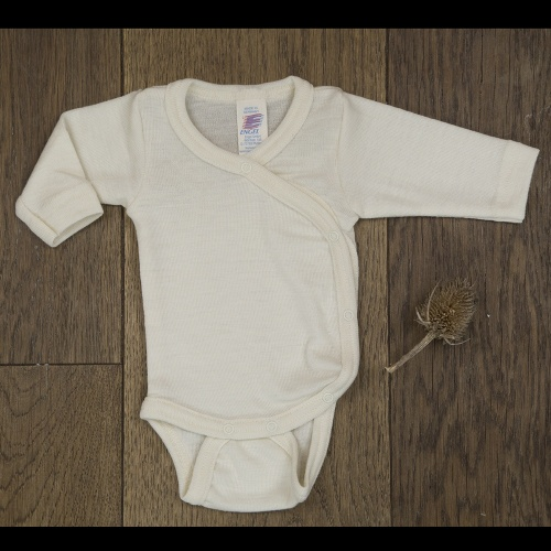 f33699d70 Silk & Wool Blend Wrap-around Babybody for Premature Babies