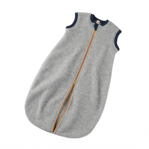 Organic Merino Wool Fleece Sleeveless Sleeping Bag