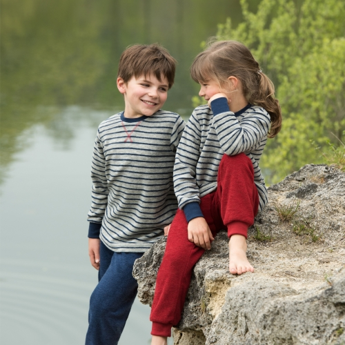 Super Soft Merino Wool Terry Children's Pyjamas