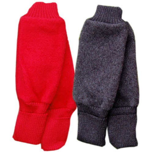 Babywearing Wool Fleece Legwarmers