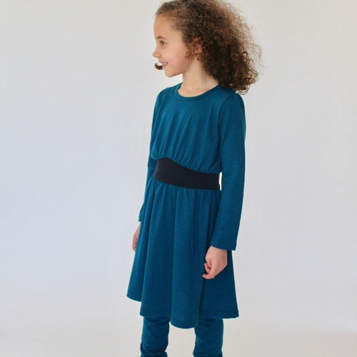 Goddess Dress in supersoft NZ Merino Wool