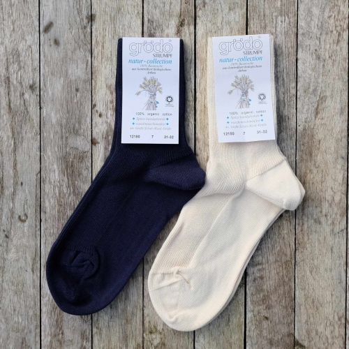 2-pack - Organic Cotton Socks for All