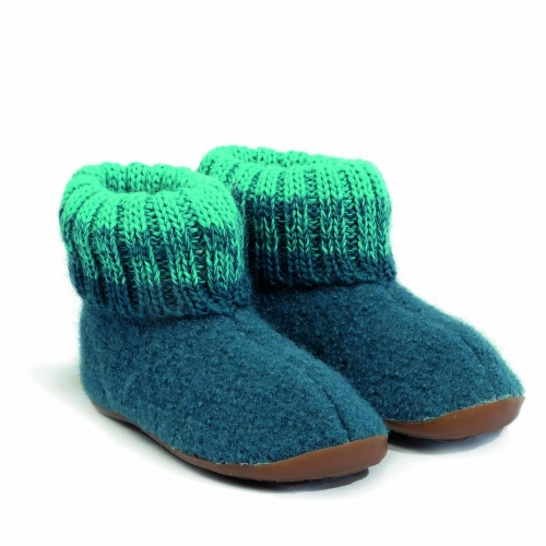 c09356807f9b6 Reviews: Haflinger Boiled Wool Slipper with Rubber Sole | Children's ...