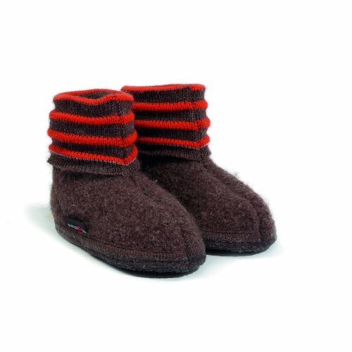 Boiled Wool Children's Linia Slipper by Haflinger