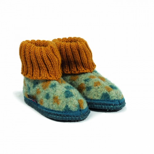 Boiled Wool Children's Nebo Slipper by Haflinger