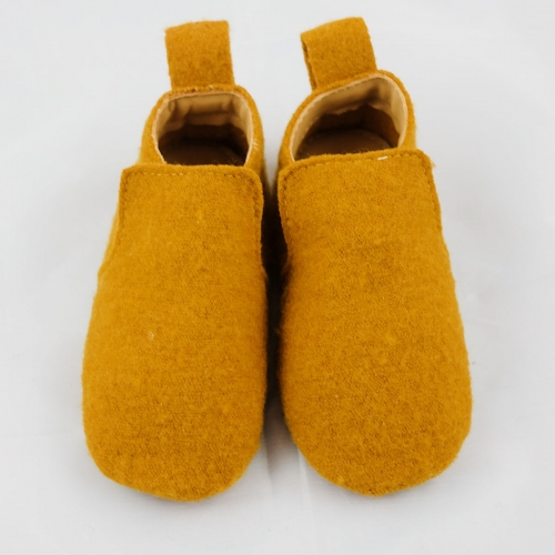 e53e244a8ec Haflinger Boiled Wool Baby Walker Shoe