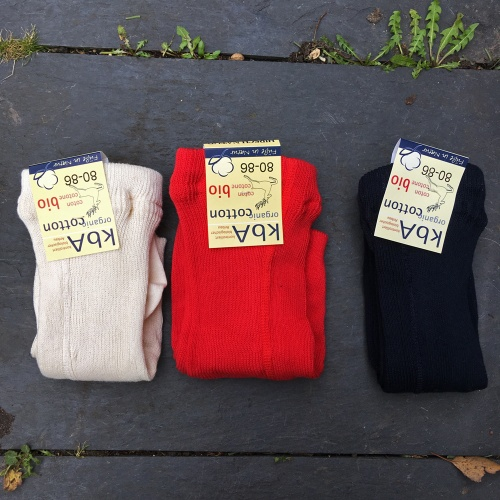 2-Pack - Organic Cotton Tights