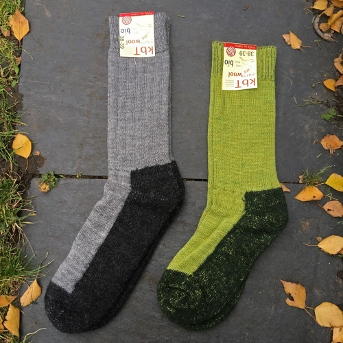 Walking Socks in Organic Wool