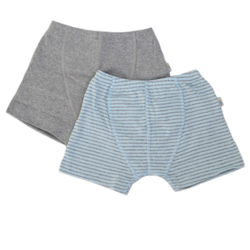 2-Pack Boxer Shorts in Organic Cotton