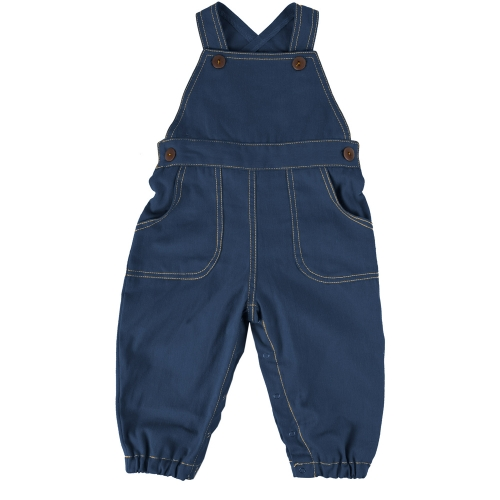 Denim Baby Farmer Dungarees in Organic Cotton