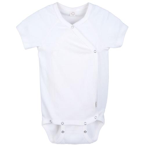 fd8a103e2b Short Sleeve Kimono Wrap Baby Body in Organic Cotton