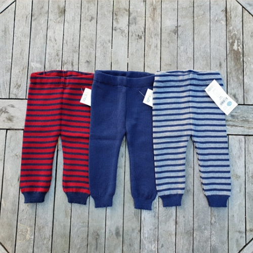 Baby Leggings in Knitted Merino Wool