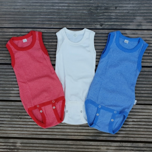 88ee502fe Organic baby bodies and vests in Merino Wool