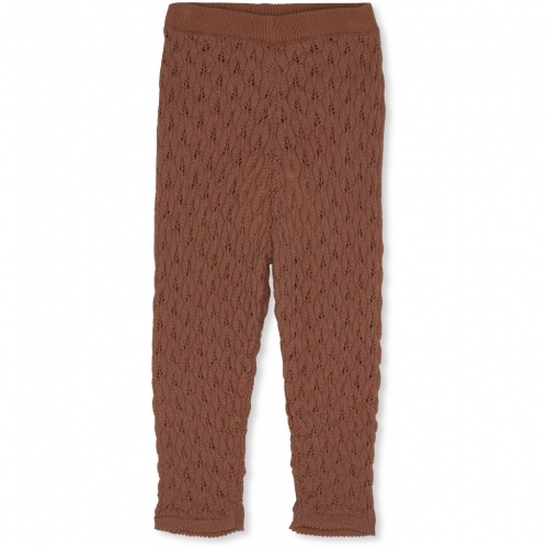 Pointelle Bremmer Pants in Organic Merino Wool
