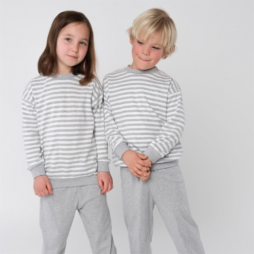 Stripy Pyjamas in Soft Organic Cotton for Children