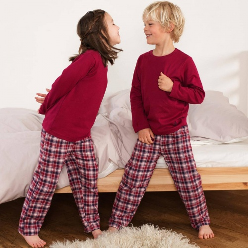 Tartan Pyjamas in Organic Cotton Flannel