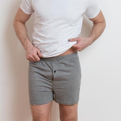 edcea890b362 2-Pack Men's Single Jersey Boxer Shorts in Organic Cotton