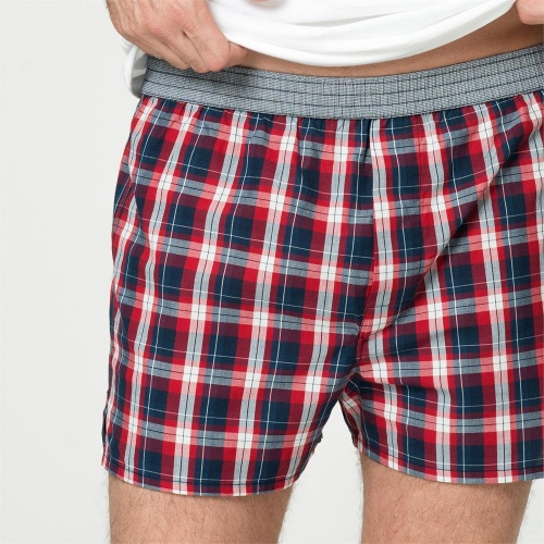 2-Pack Men's Boxer Shorts in Organic Cotton