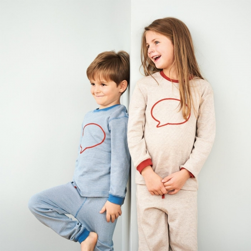 Children's Pyjamas in Soft Organic Cotton