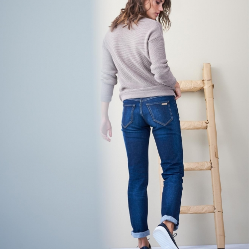 Women's Organic Cotton Jeans With Five Pockets