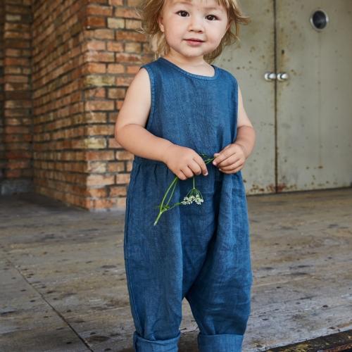 5d0eae41609 Rye Jumpsuit in Organic Linen