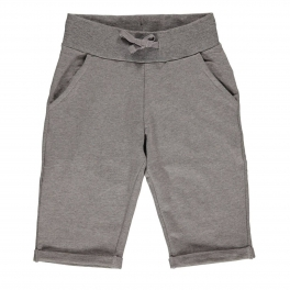 Knee-Length Shorts in Soft Organic Cotton