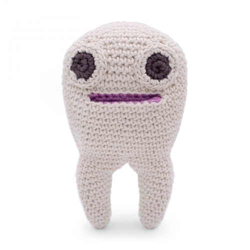 Hand Crocheted Tooth Box