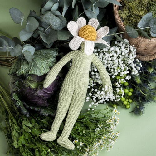 Camille Chamomile Hand Crocheted Toy
