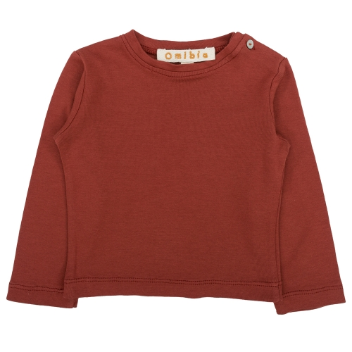 Children's Long Sleeved Tee Shirt in Organic Cotton