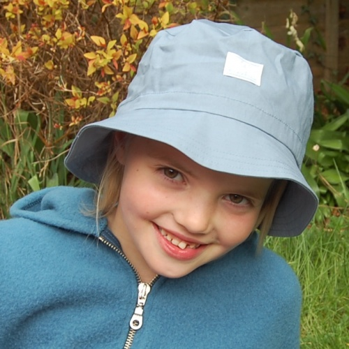 Fisherman's Sun Hat with Drawstring in Organic Cotton (UV)