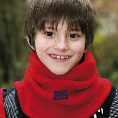 IOBIO Hat 100/% WOOL child boy girl baby fleece winter organic grey blue bonnet