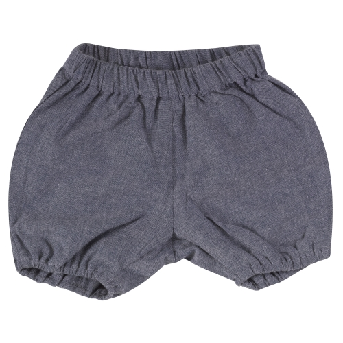 Organic Cotton Chambray Baby Bloomers