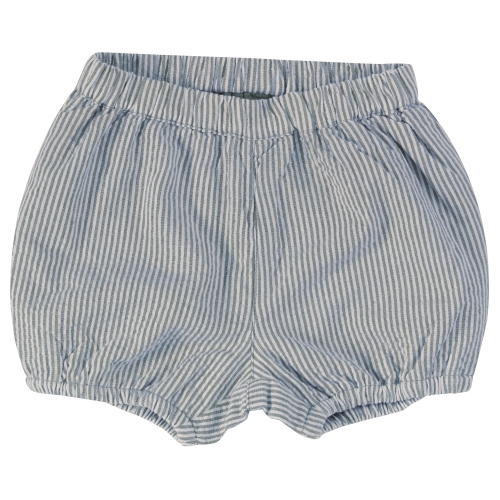 Organic Cotton Seersucker Baby Bloomers