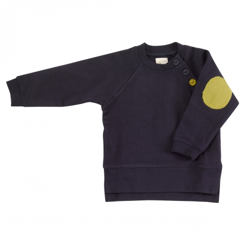 Children's Sweatshirt With Elbow Patches