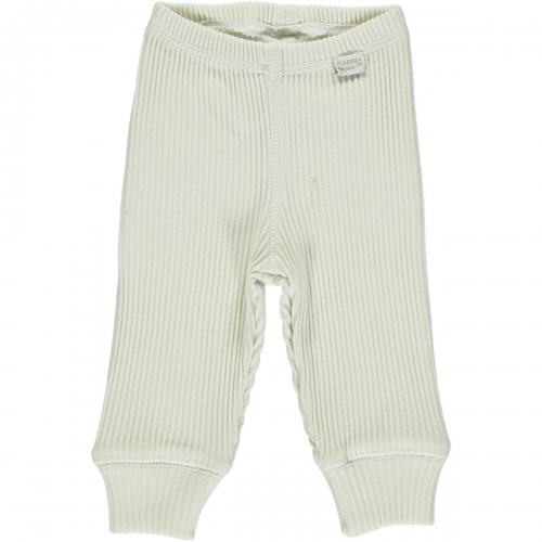 Soft Ribbed Organic Cotton Baby Leggings