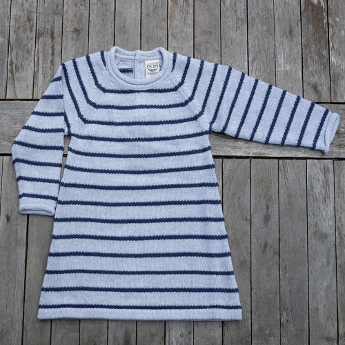 Organic Cotton Long Sleeve A Line Baby Dress