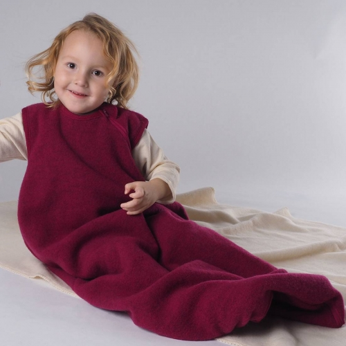Merino Wool Fleece Sleeping Bag Without Sleeves
