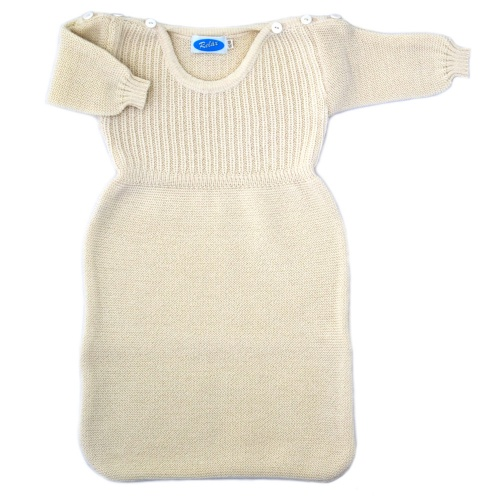Knitted Merino Sleeping Bag With Arms by Relax