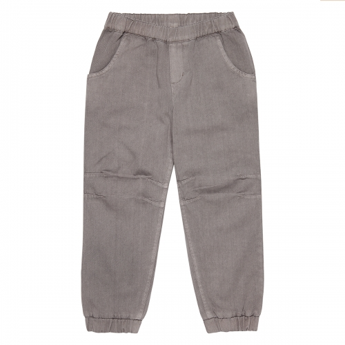 Lined Organic Cotton Twill Trousers