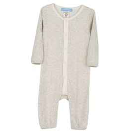 Baby All-in-One in Ribbed Organic Cotton