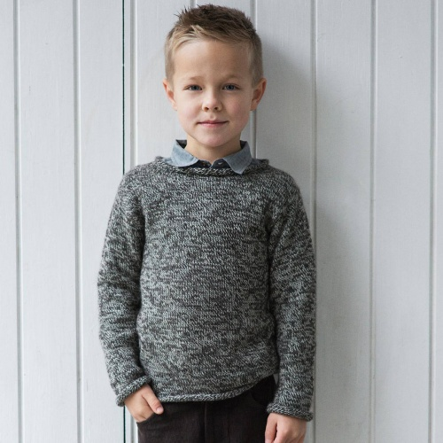 Children's Jumper in Soft Alpaca