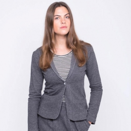 Women's Jacket in Soft Organic Cotton