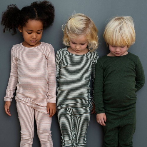 Children's Long-Sleeve Tee in Organic Cotton