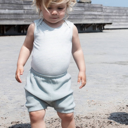 Knitted Baby Bloomers In Organic Cotton