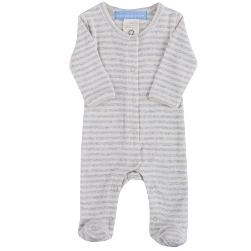 Stripy Babygrow for Premies and Newborns