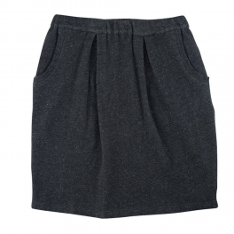 Women's Skirt in Soft Organic Sweatshirt material