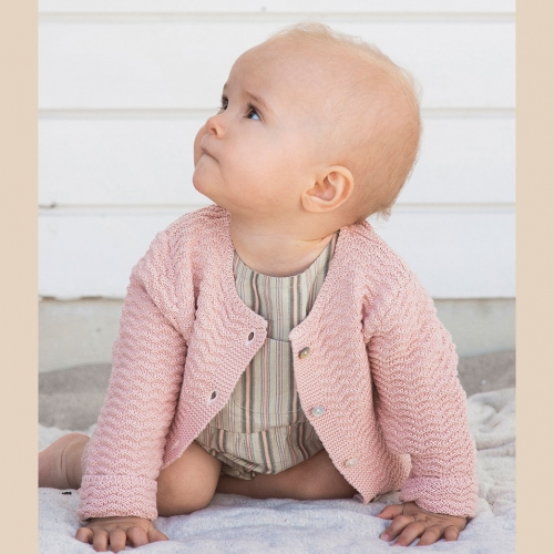 Baby Suit in Woven Organic Cotton