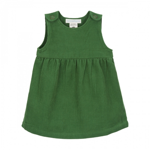 Baby Dress in Organic Cotton Corduroy