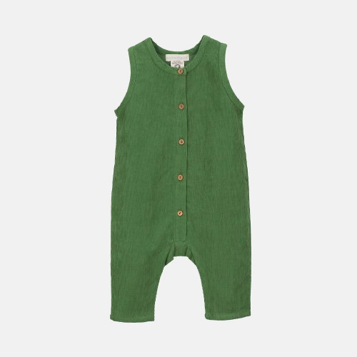 Organic Cotton Corduroy Baby Overall