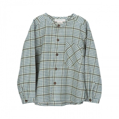 Brushed Organic Cotton Peasant Shirt